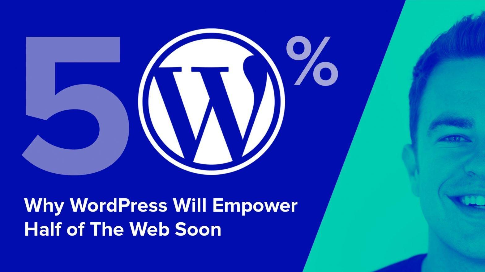 Why WordPress Will Empower Half of the Web Soon - Sebastiaan van der Lans